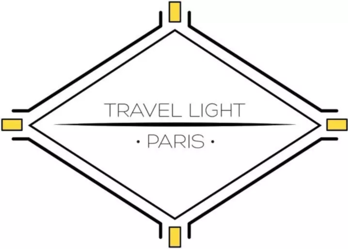 Travel Light Paris logo.
